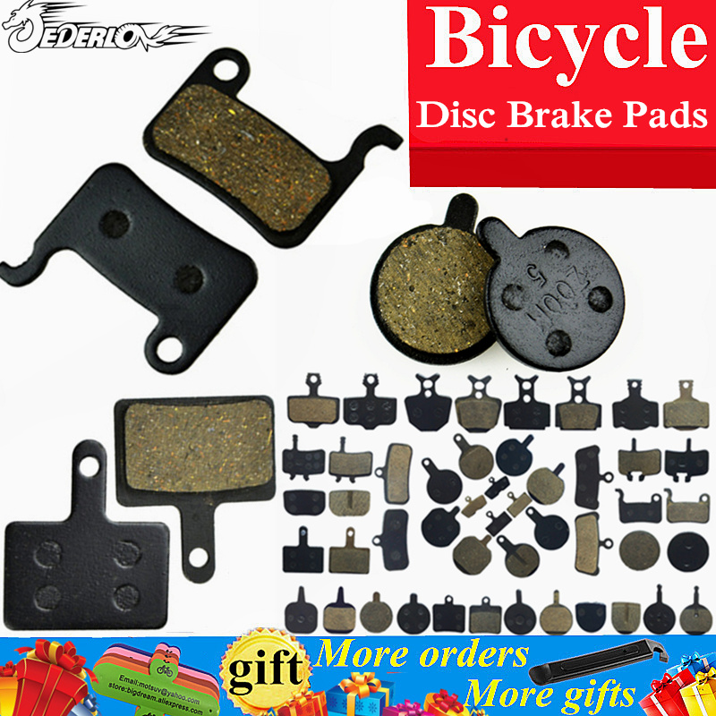 4 Pair Bicycle Disc Brake Pads for MTB Hydraulic Disc Brake AVID HAYES TEKTRO Magura Formula Bike Cycling Resin brake pads