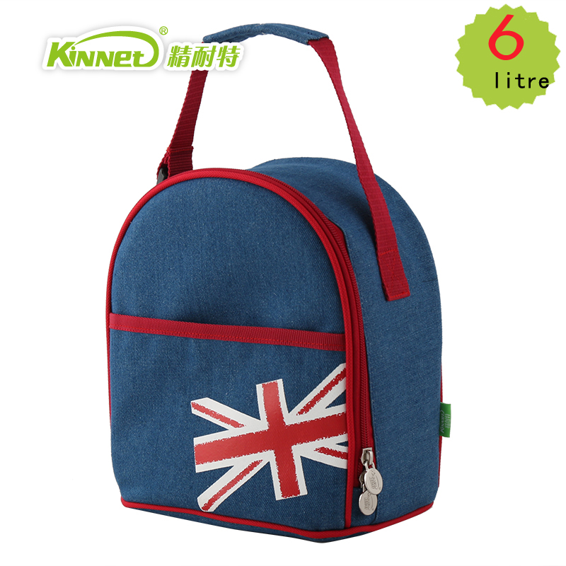 Camping-Flaschen & Thermoskannen Kinnet Picnic Cooler Bag 33L Large Capacity Square Thermal Lunch Bags Handbag Ba