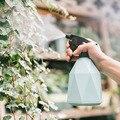 Садовый горшок для полива растений, 600 мл, пластиковые цветные конфеты цветы, опрыскиватель для рассады, горшок для укладки волос