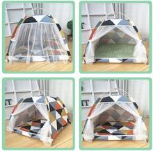 L Portable foldable pet tent playpen outdoor Indoor for cat small dog puppy tents cats toy house teepee