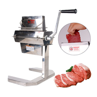 GZZT Stainless Steel Meat Tenderizer Needle Steak Beaf Pounders Kitchen Meat Tools Commercial 11*2/15*2/27*2 Blades