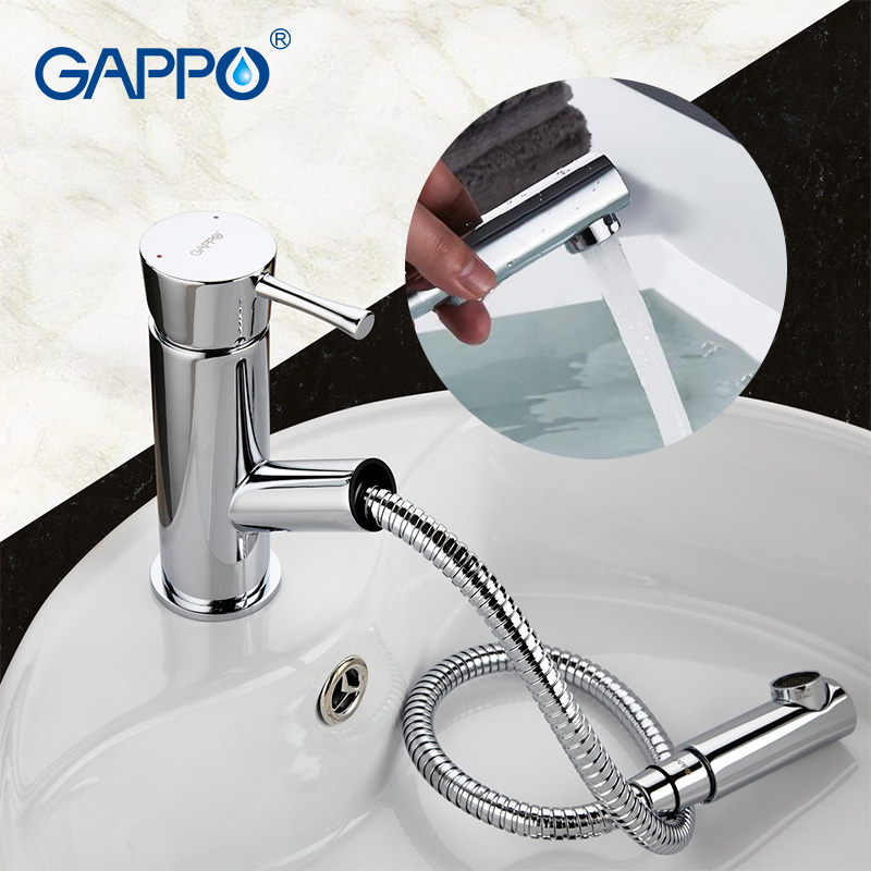 Здесь продается  GAPPO easy pull out Basin sink faucet water mixer toilet brass taps bathroom accessories chrome  G1209  Строительство и Недвижимость