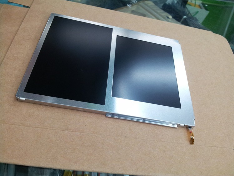 100% original new upper bottom lcd for 2ds lcd display top with bottom Screen for Nintend 2ds
