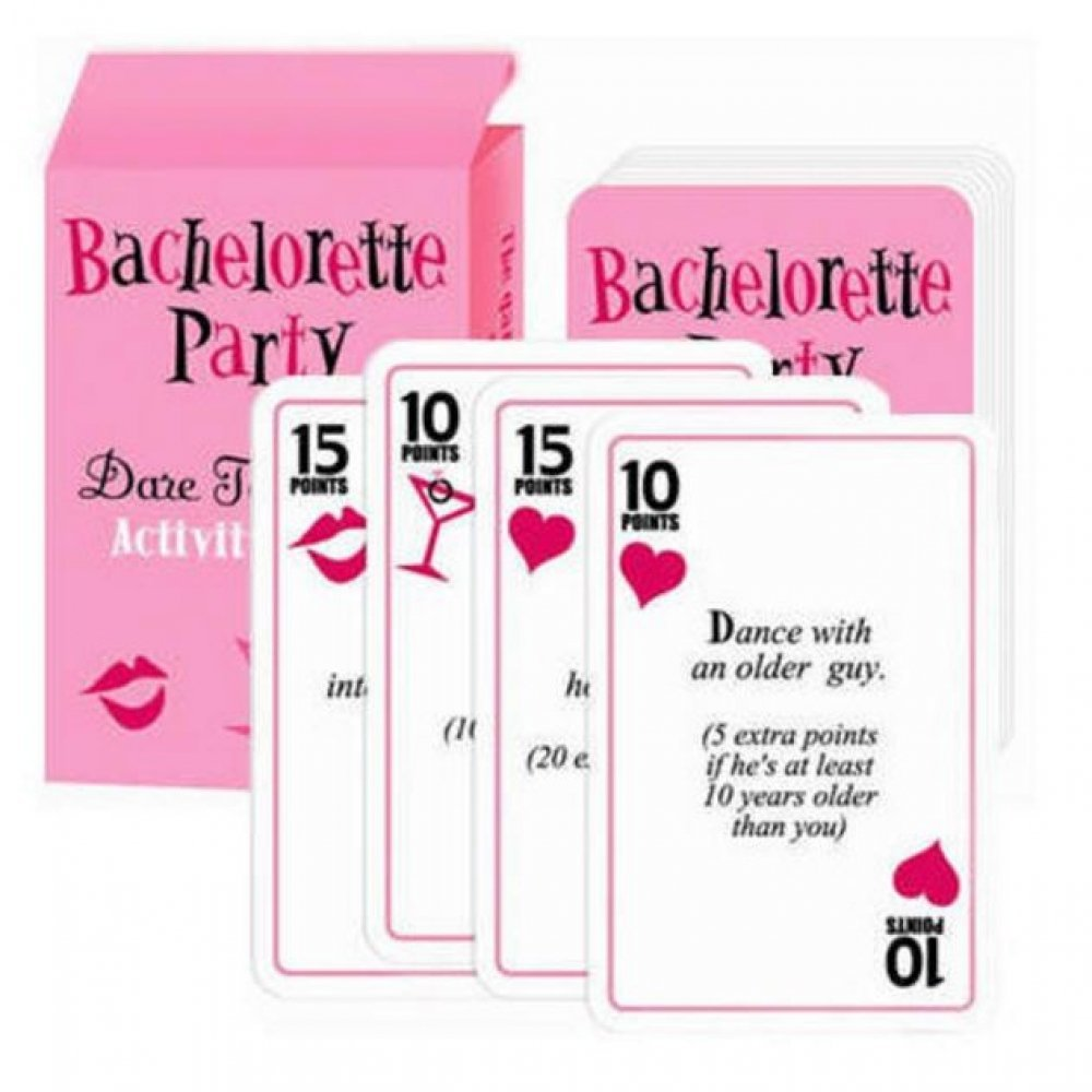 Fun Bachelorette Party Games Cards Dare To Do It Wedding Bridal Shower Decoration Favor Gifts Scavenger Hun Supplies In Favors From Home