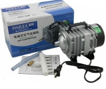 Hailea ACO-328 elektromagnetyczna akwarium pompa sprężarki powietrza 82L/min 220 V 60W. ACO328 elektromagnetyczna sprężarka powietrza pompy