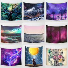 custom  large beautiful landscape tapestries wall hanging tapestry rectangle size L 200*150cm M 150*130cm