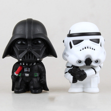 10cm Star Wars  Figure Action The Force Awakens Black Series Darth Vader Stormtrooper Model Toy For Kid's Gift Free Shipping