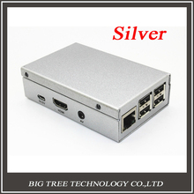 Exclusive sale! Sliver Metal Box – Iron Case For Raspberry Pi B+ Model B Plus & Raspberry Pi 2 With Fan Also Fit For Camera