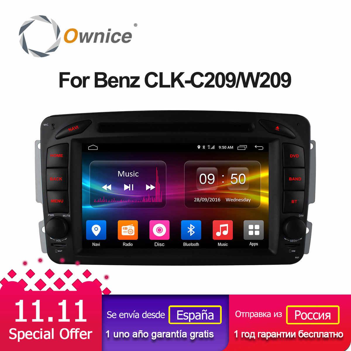 4G SIM LTE Android 6 0 Octa 8 Core Car DVD Radio Player GPS for Mercedes  W163 W168 W170 W203 W210 W463 E300 E320 E420 C208 C209