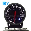 High Quality 2.5 INCH 60MM DY BF Oil Press gauge with White and Red colors Light Car Oil temperature Meter