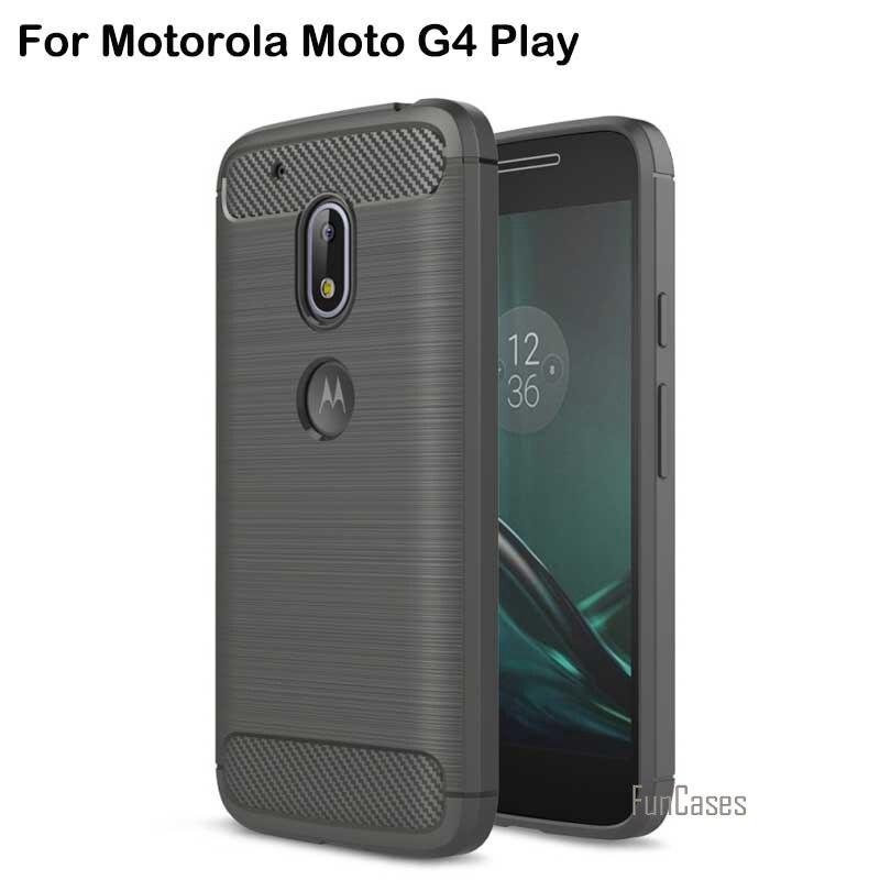 Elephone para motorola moto g4 play case cubierta del teléfono móvil accesorios