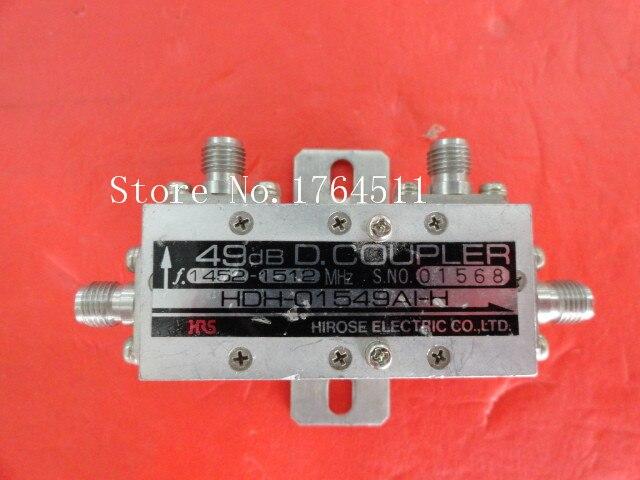 [BELLA] HRS HDH-01549AI-H 1.452-1.512GHz 49dB SMA Coaxial Directional Coupler