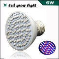 Full spectrum E27 6W 40Red:20Blue 60 LEDs LED Grow Light for Flowering Plant and Hydroponics System growing box Dropshipping