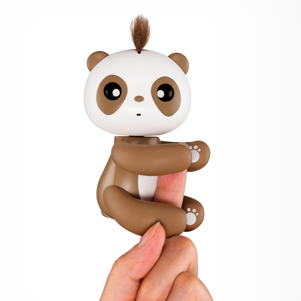 New Finger Panda Smart Touch Induction Pet Interactive Fun Finger Toy Cute Hanging Puppet Like Finger Monkey Toys Birthday Gift