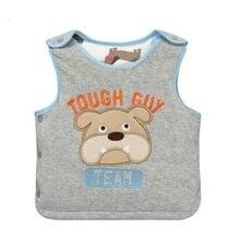 2017 New Baby Vest For 1-3 Years Girls Boys Children's Sleeveless Warm Vests For Spring Autumn Winter Kids Waistcoat KF225