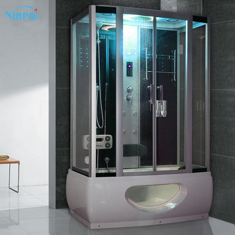 1350mm shower cabin Steam Shower Enclosure Cabin Cubicle Shower Bath ...