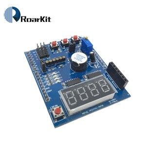 Image 4 - Multifunzionale kit scheda di espansione a base di apprendimento per arduino UNO r3 LENARDO mega 2560 Shield