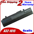 JIGU 5200mah Laptop Battery For ASUS Eee PC 1015 1016 1215 A31-1015 A32-1015 AL31-1015 PL32-1015 Black