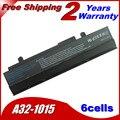 Jigu 5200 mah batería del ordenador portátil para asus eee pc 1015 1016 1215 a31-1015 a32-1015 al31-1015 pl32-1015 negro