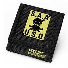 High Quality Ansatsu Kyoushitsu Men Wallet Short Coin Purse Small Fashion New Wallet Brand
