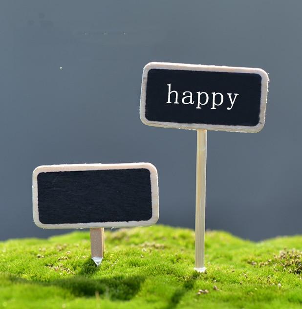 Miniature Dollhouse FAIRY GARDEN Accessories ~ Mini Retro ROUTE 66 Highway Sign