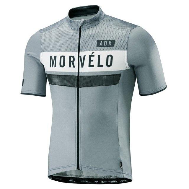 93a4e0558 2018 morvelo newest pro team fit top quality Men s summer short sleeve  cycling jerseys Cycling jerseys short sleeve shirt