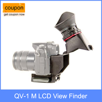 Kamerar QV 1 M LCD View Finder For Panasonic GH3 GH4 Sony A7 A7R A7S