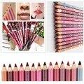 12 шт./лот 15 см водонепроницаемый карандаш для губ для женщин профессиональный стойкий карандаш для губ инструменты для макияжа M01248