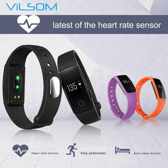 Bluetooth Smart Cicret Bracelet Smart Band Heart Rate Monitor
