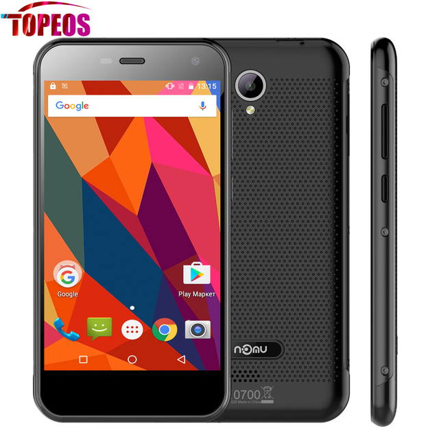 "5.0"" Nomu S20 Android 6.0 Mobile Phone MTK6737T Quad Core 3+32GB Smartphone 4G Lte 3000mAh 13.0MP 1280x720 Waterproof OTG Celula"