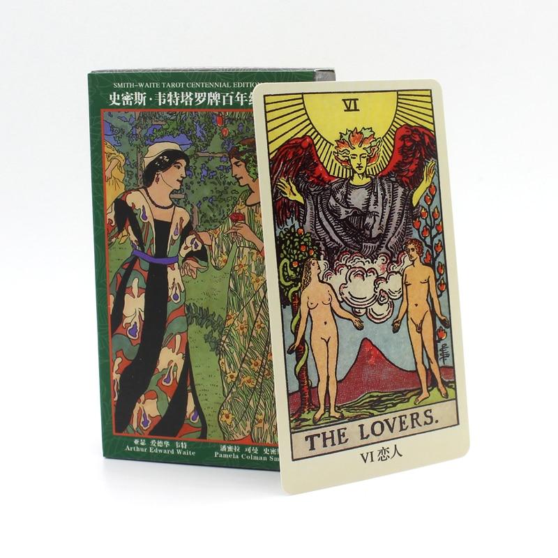 78 cards/Set 6 Options Quality Tarot Cards TheRider/Classic/Animal Totem /Rider Waite Tarot Century Edition the classic tarot карты