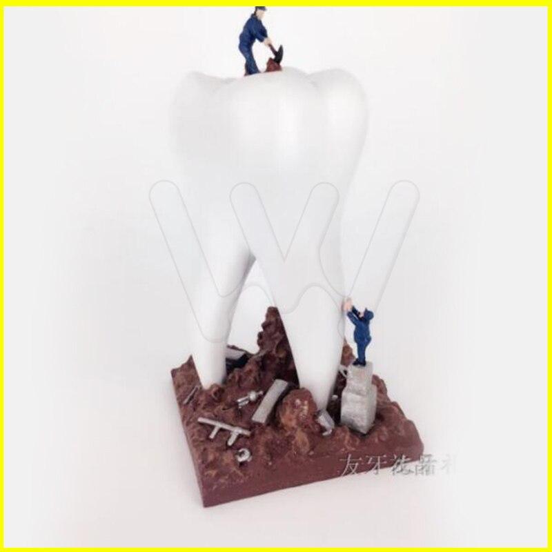 Dentiste cadeau résine artisanat jouets dentaire Artware dents artisanat dentaire clinique décoration ameublement Articles créatifs Sculpture