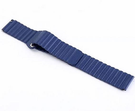 22mm echtes leder uhrenarmband schnellverschluss für samsung gear s3 - Uhrenzubehör - Foto 3