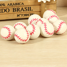 10 Pcs/set Bouncing Ball Rubber Elastic Jumping Baseball Kids Outdoor Toys