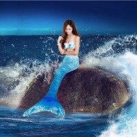 new Mermaid swimsuit with fins split Agent Provocateur Bikini steel support bikinis swimsuits steel support women gather