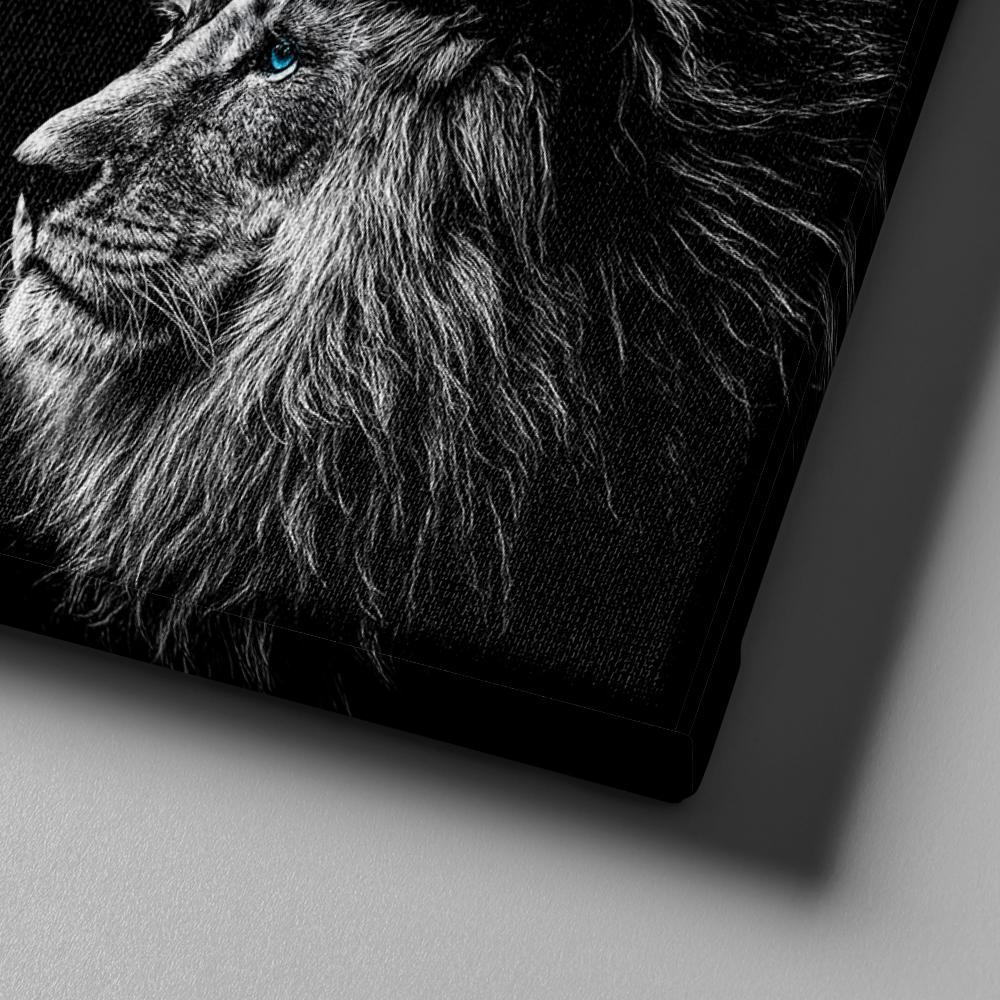 Nordic Wall Picture Blue Eyed Lion Animal Poster Modern Decorative Paintings on Canvas Wall Art for Home Decorations Wall Decor in Painting Calligraphy from Home Garden