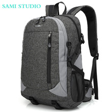 SAMI STUDIO Waterproof Backpack 15.6 Laptop Bag Computer Multi-functional Travel Knapsack Lightweight School