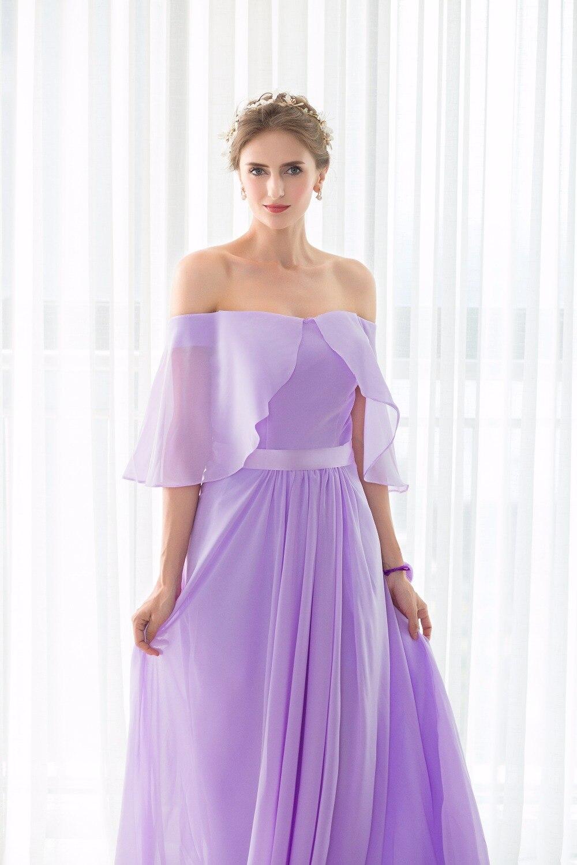 100% real Pictures vestido dama de honor Vestidos de dama de honor ...