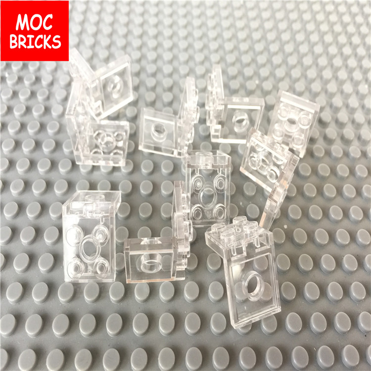 Lego Lot of 50 New Trans-Clear Bricks Round 2 x 2 x 1 2//3 Dome Top Transparent