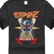 simple fashion Mazinger Z New Fashion Men'S T-Shirts Short Sleeve Cotton T Shirts Man Clothing