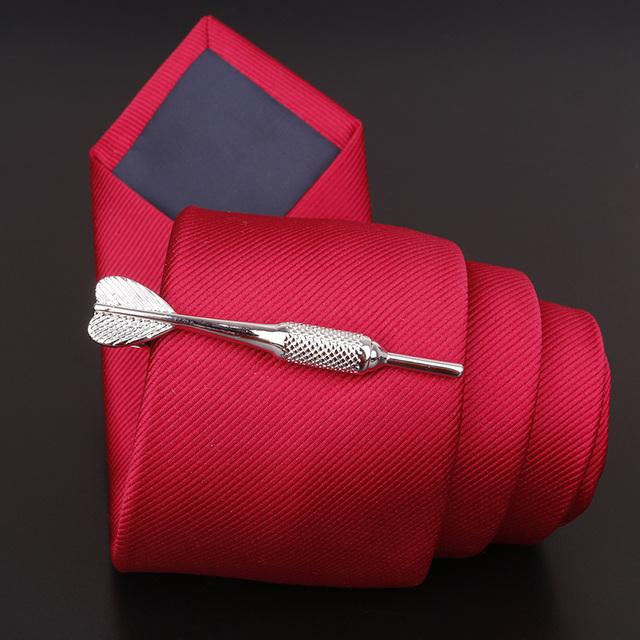 Mdiger Metal Tie Designer Clips Clasp Pin Mens Necktie Classy Wedding