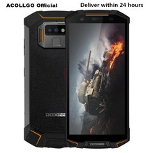 """DOOGEE S70 IP68/IP69K Waterproof Game Phone 5.99""""FHD+ Helio P23 MTK6763T Octa Core 6GB+64GB Wireless charger NFC OTG Android 8.1"""