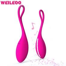 10 Скорость беспроводной зарядки музыкальные функции мини пуля вибрационный яйцо Sextoy вибратор для женщин vibrador секс-игрушки для взрослых для женщин