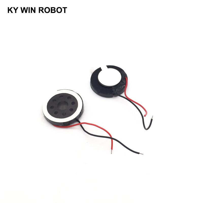 10pcs New Ultra-thin Speaker Electronic Dog GPS Navigation Speaker Plate 8R 1W 8ohm 1W Diameter 18MM 1.8CM Thickness 4MM
