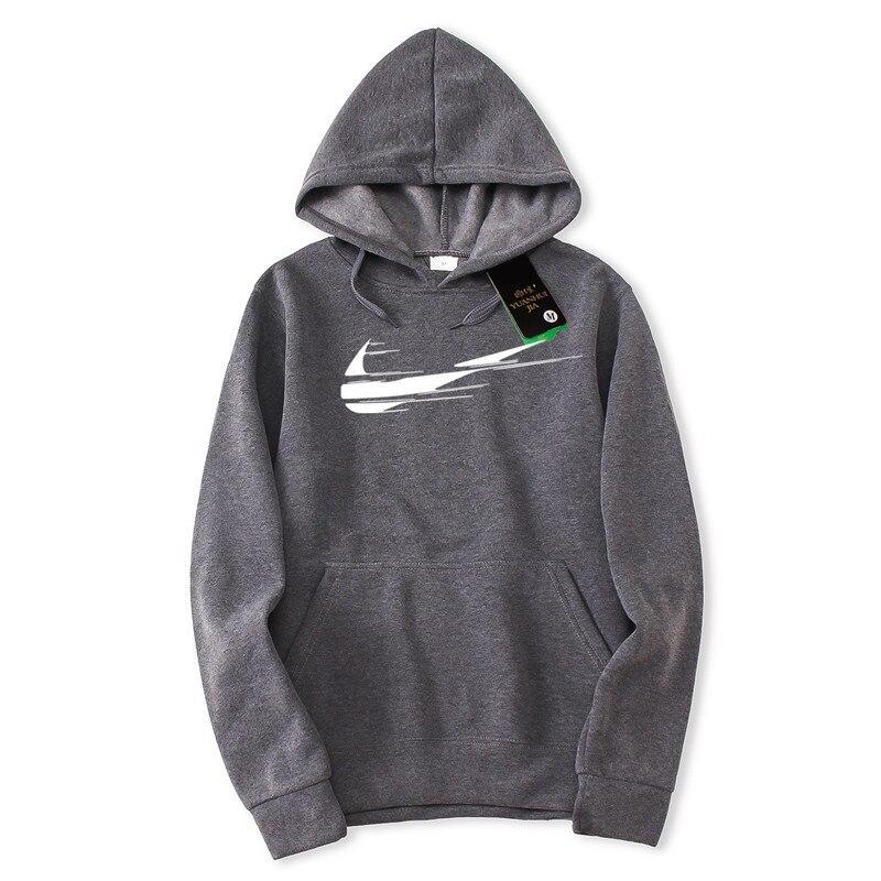 New Brand Men's Long Sleeve Hoodie Print Casual Hoodie Sweatshirt Men's Fleece Fashion Hip Hop Hoodie Men's Sweatshirt Pullover
