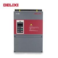DELIXI AC 220 В 0,4/0,75/1,5/2,2/3.7KW 3 инвертор фазовой частоты накопители VFD для двигатель скорость управление 50 Гц 60 DC преобразователь