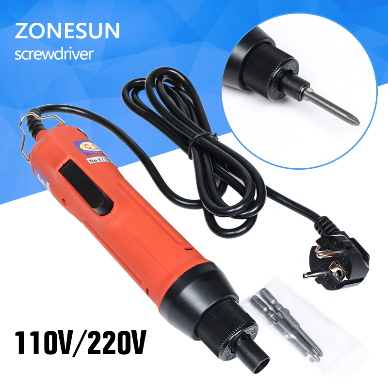 ZONESUN Hot Sales AC 200-240V OS-600 801 Electric Screw Driver Motor-driven Screwdriver Screw Driver Screws Power Tools driven to distraction