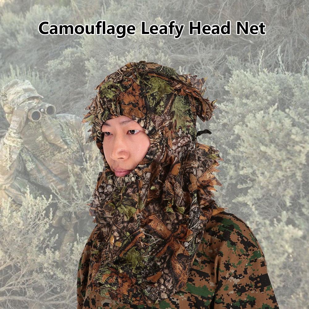 Sportbekleidung Zielstrebig Sniper Tactical Camouflage Headvie Haube Für Ghillie Anzug Ghilly Jagd Airsoft Paintball Angeln Moskito Net Kopf Abdeckung Jagd-tarnanzug