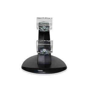 Image 3 - جديد أسود شحن USB مزدوج حامل قاعدة شحن حامل دعم شاحن ل بلاي ستيشن 4 PS4 لعبة وحدة تحكم لاسلكية اكسسوارات