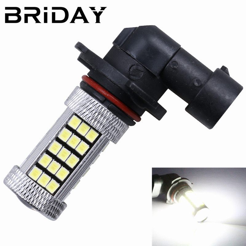 1pc 9006/HB4 9005/HB3 63smd Fog Lights LED Car Daytime Running Light Auto Lamp Bulbs led lights for cars car-styling DC 12V new arrival a pair 10w pure white 5630 3 smd led eagle eye lamp car back up daytime running fog light bulb 120lumen 18mm dc12v
